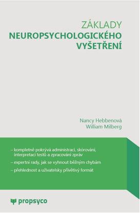 Obrázek Základy neuropsychologického vyšetření