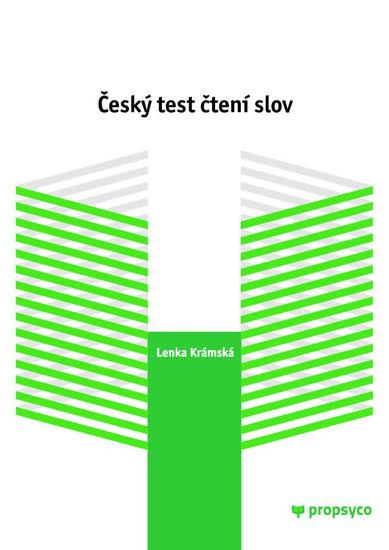 Obrázek Český test čtení slov